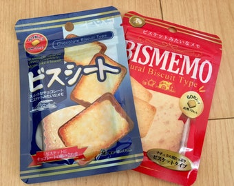 Japanese Biscuit Memo pads (2 packages)