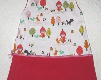dress child reversible little Red Riding Hood 2/3 years