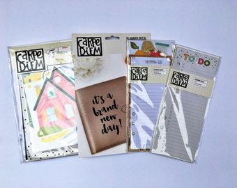 Simple Stories Home Planner Inserts, Carpe Diem Planner Inserts, To Do Bookmark, Shopping Bookmark, Planner Decal, Planner Accessories