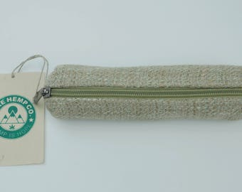Handmade Hemp multi-use case/ pouch/ coin purse/ eye-glass case