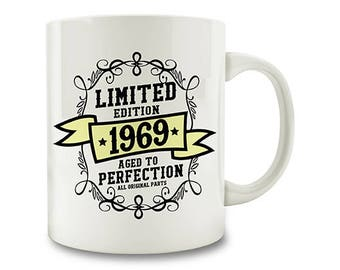CUSTOM Limited Edition Aged To Perfection Mug (P108-cust)