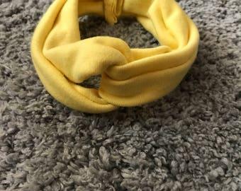 Yellow Teen/Adult Headband
