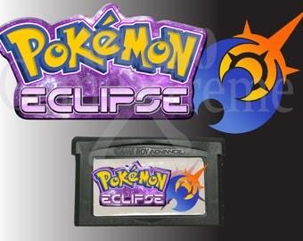 Pokemon Eclipse fan made hack Gameboy Advance GBA