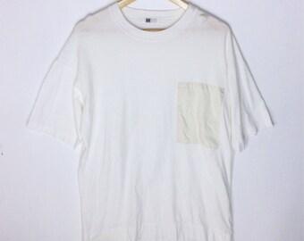 Rare Design IM Product By Issey Miyake Pocket T-shirt