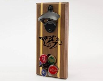 Nashville Predators Magnetic Bottle Opener