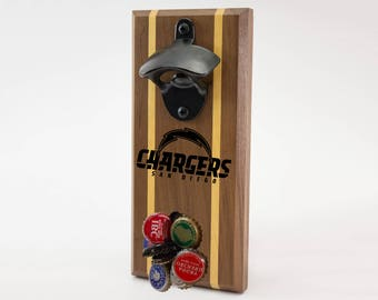 San Diego Chargers Magnetic Bottle Opener
