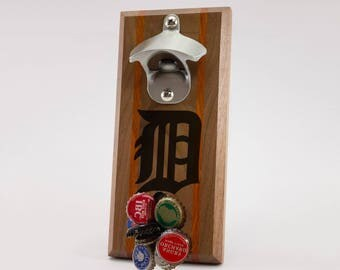 Detroit Tigers Magnetic Bottle Opener