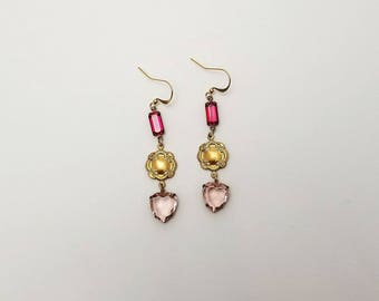 Ruby & Rose // French Vintage Earrings