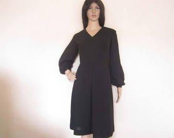 True vintage 60s A-line dress dress M