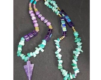 Mermaid' s Crown Necklace