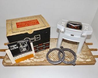 Veg o Matic food slicer,dicer,wedges,infomercial product,vegetable slicer,french fry maker,kitchen appliance,retro kitchen utensil