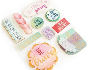 Boho Phrases Stickers By Recollections™
