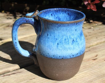 16 oz Bright Blue Mug