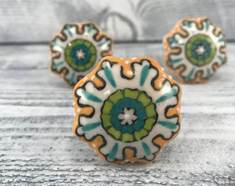 Ceramic knobs Etsy