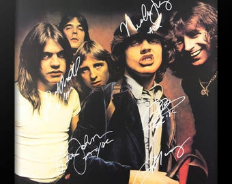 AC/DC - Highway to Hell - Signed Poster