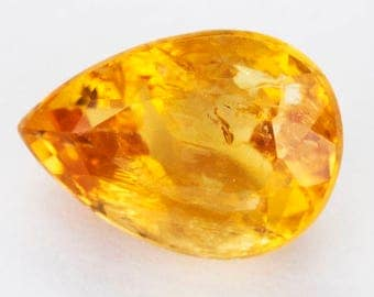 2.30ct Imperial Topaz Orange Pear (included)