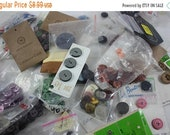 Clearance Vintage Buttons Grab Bag Lot Buttons In Bags And On Cards Coldwater Creek Clothing Replacement Buttons From Up-cycle Recycle
