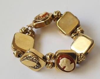 Vintage Marino Charm Bracelet,