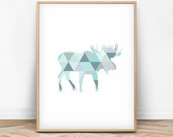 Moose Decor Etsy - Moose wall decor