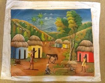 "Haitian Art ""Weekly Work"""