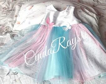 Beautiful unicorn colours dresses