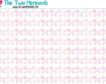 Poodles Planner Stickers