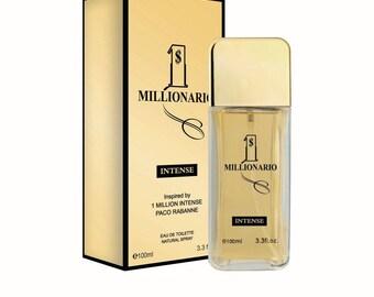 1 Millionario Perfume COLOGNE For Men 3.3oz EDT inspired by 1 Million