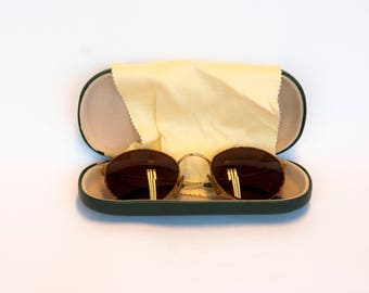 Vintage glasses with reading specticals