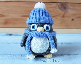 SALE! Crochet amigurumi penguin toy, amigurumi bird, amigurumi animals, stuffed pinguin, crochet animals, handmade toy, soft toy, crochet...