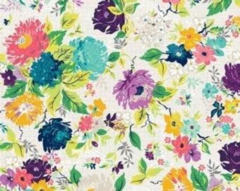 ADORNit Gigi Botanical Cotton Quilting Fabric
