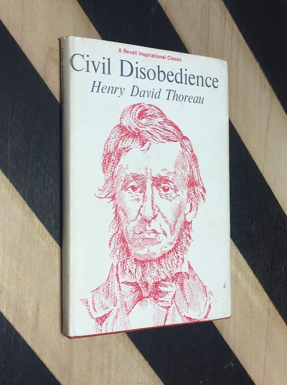 Civil Disobedience by Henry David Thoreau (1964) hardcover book