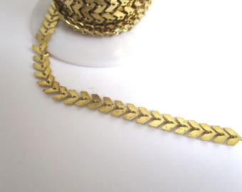 Spike gold color chain 20CM