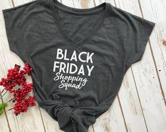 black friday shopping squad- black friday tshirt- friends giving shirts- black friday shirt- shopping tshirt- black friday squad shirt