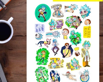 Set 125 Mockup Printable Tumblr Stickers Stickers Set Of