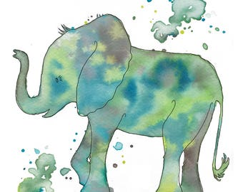 Tie Dye Animal Custom Painting
