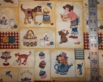 Kelly's Sweet Treats 100% Cotton Fabric #356