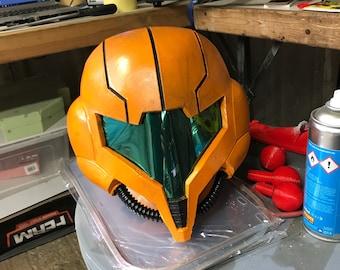Samus Aran helmet Metroid