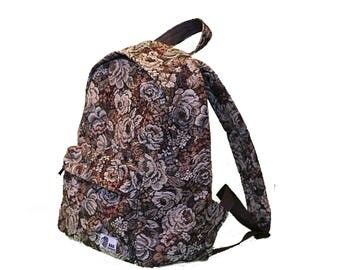 """Gobelin with roses backpack """"BagDivision"""""""