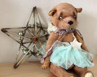 Teddy, artist teddy bear, teddy bear, Ooak Teddy Bear, Stuffed Bear, Plush, stuffed plush bear, Stuffed Animals, gift for her