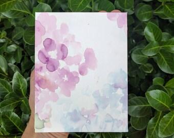 Handmade Floral Journal