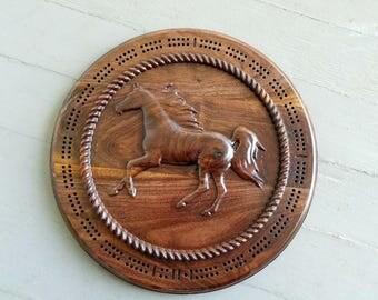 Wild Horse in Walnut
