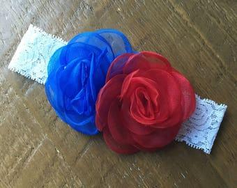 Red, White & Blue Headband.