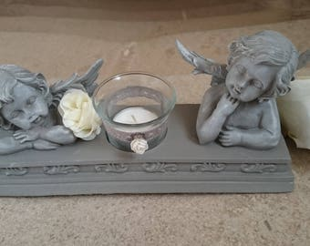 An Angel passes... Candle/tealight and his angels who watch...