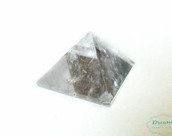 Clear Quartz  crystal pyramid
