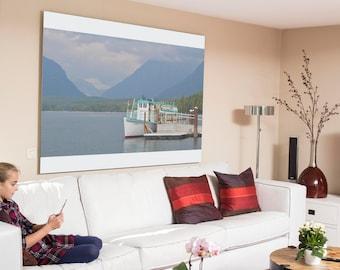 Boat print, Wall art print. instant download