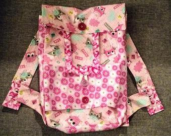 Pink American Girl Backpack