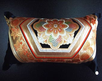 Cushion of Obi (Kimono) Japanese Silk  0000104