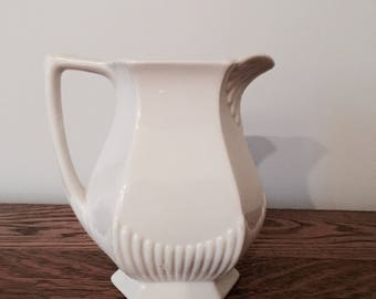 Adams Ironstone Creamer Pitcher