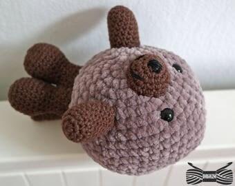Crochet Supersoft Sea Otter Amigurumi