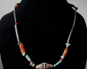 Necklace: Magic of the Indian summer Collection